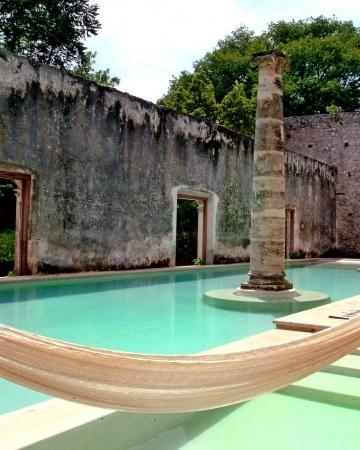 Hacienda Uayamon, Uayamon, Campeche México.