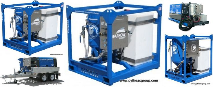 Farrow System Sandblasting Machines