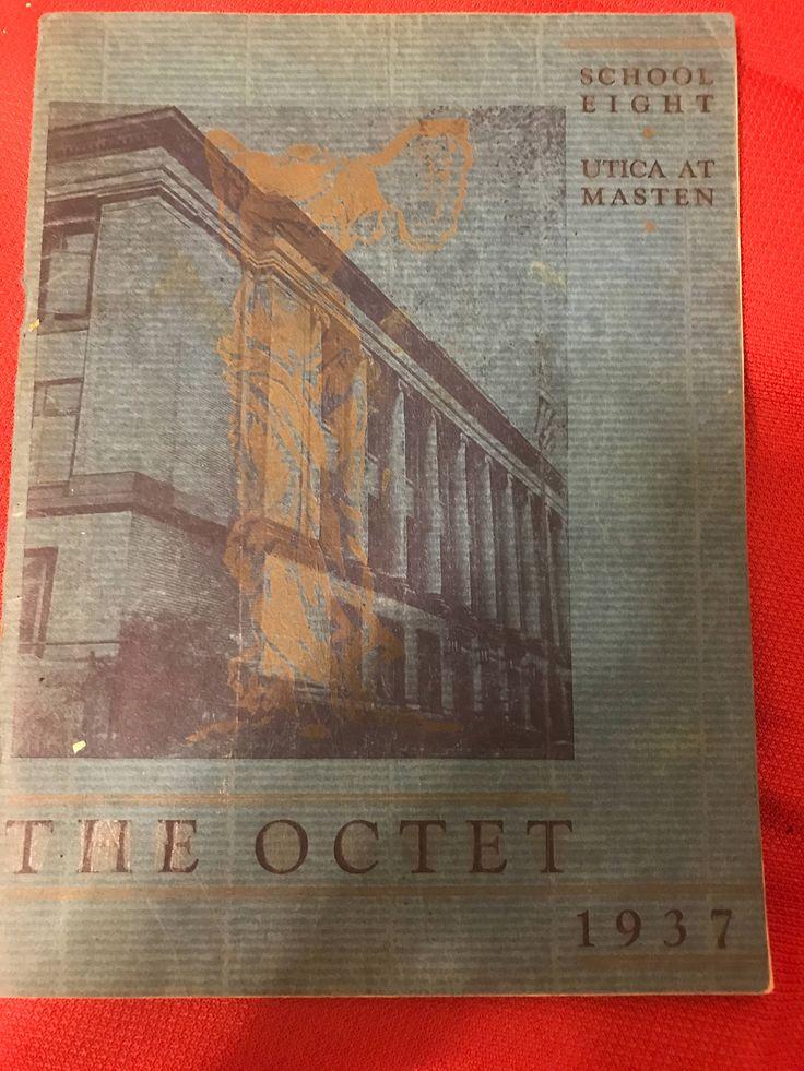 June 1937 Buffalo New York School Eight 8 Yearbook The Octet by BuffaloPasse on Etsy