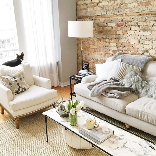 Best Of The Week 9 Instagrammable Living Rooms: 39 Best Images About Brick On Pinterest