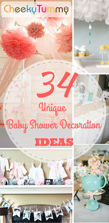 34 Unique Baby Shower Decoration Ideas 17
