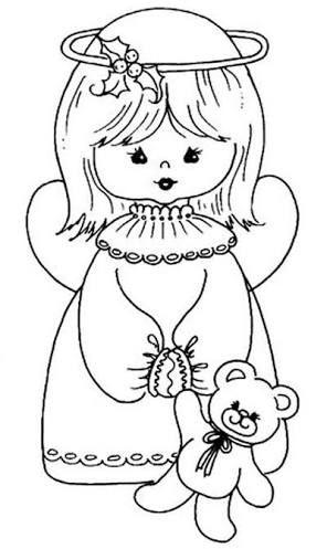 Resultado de imagem para desenhos de anjinhos