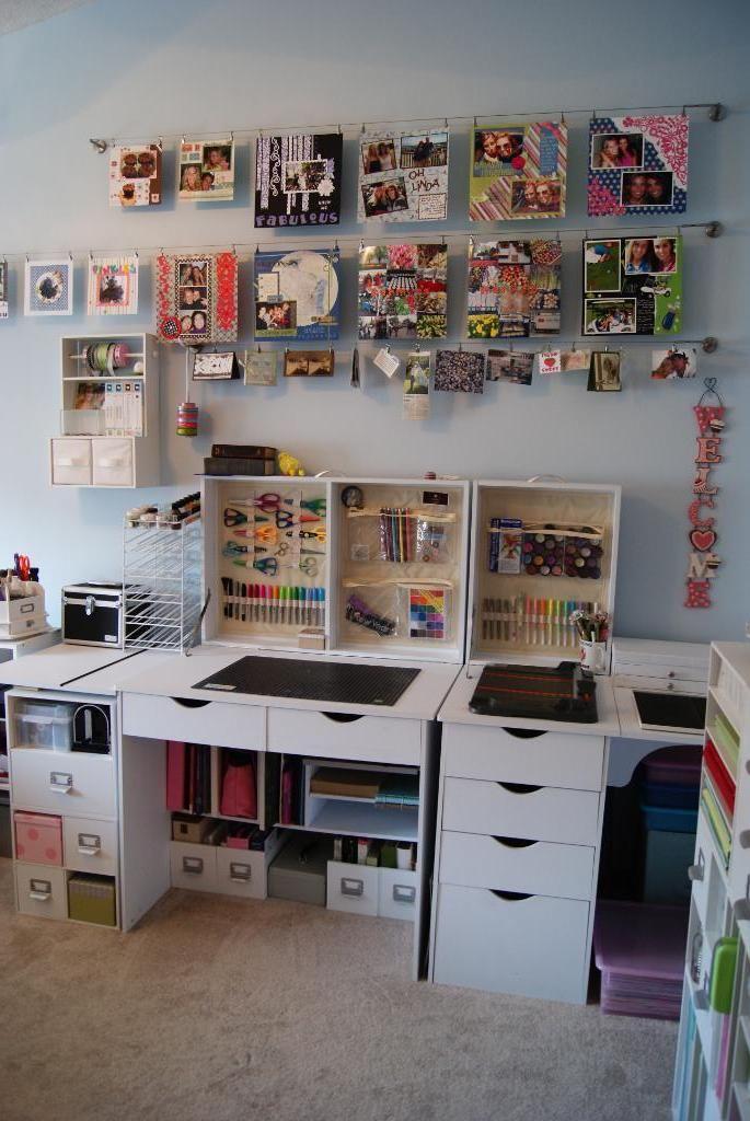 17 Best ideas about Scrapbook Rooms on Pinterest ...