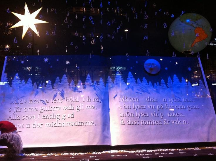 Vetrina natalizia di NK 2012 #insvezia #stoccolma