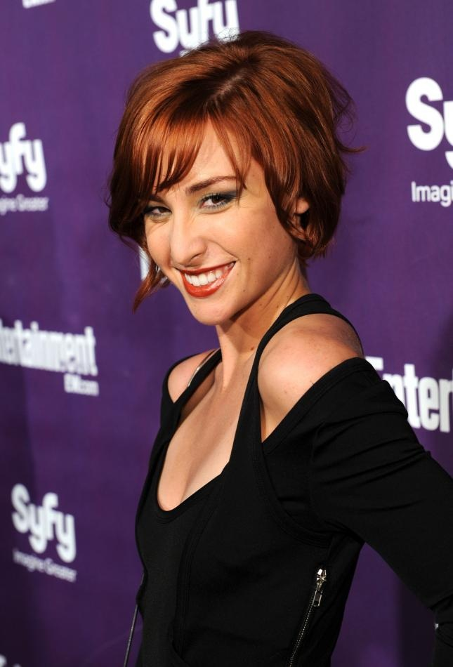 claudia; warehouse 13....thinking of cutting my hair like this for summer!