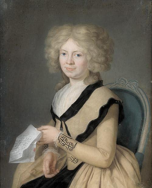 c.1786 Darbes, Joseph Friedrich: Porträt der Juliane Gottliebe Elis