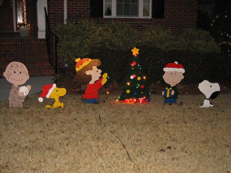 christmas wood yard art christmas yard art by rooster lumberjockscom - Peanuts Wooden Christmas Yard Decorations