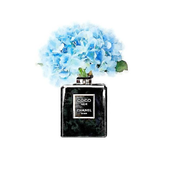 Hey, I found this really awesome Etsy listing at https://www.etsy.com/listing/260341159/art-print-black-coco-noir-perfume-bottle