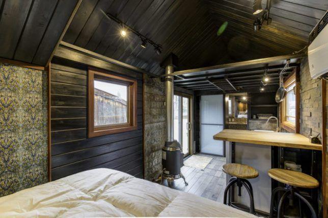 Steampunk Micro-Home: Mobile Shabby Chic Trailer Rocks Lofty Aesthetic | Urbanist