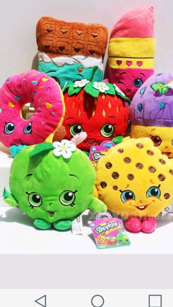 NEW Shopkins Plush 7pc /Free shipping