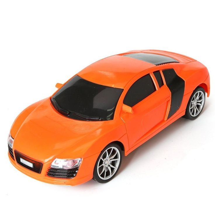 Electric Rc Cars Audi Orange Fast and Furious Remote Control 1/16 Scale Boys Toy #ElectricRcCars