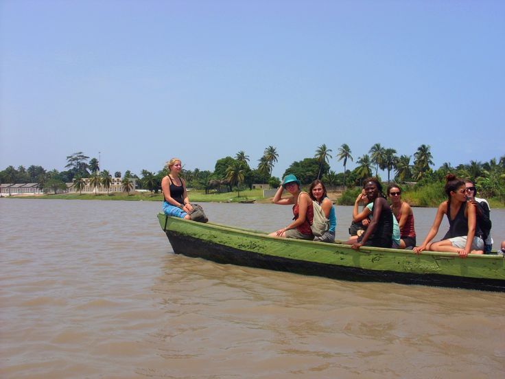 Excursion en pirogue - Togo 2013