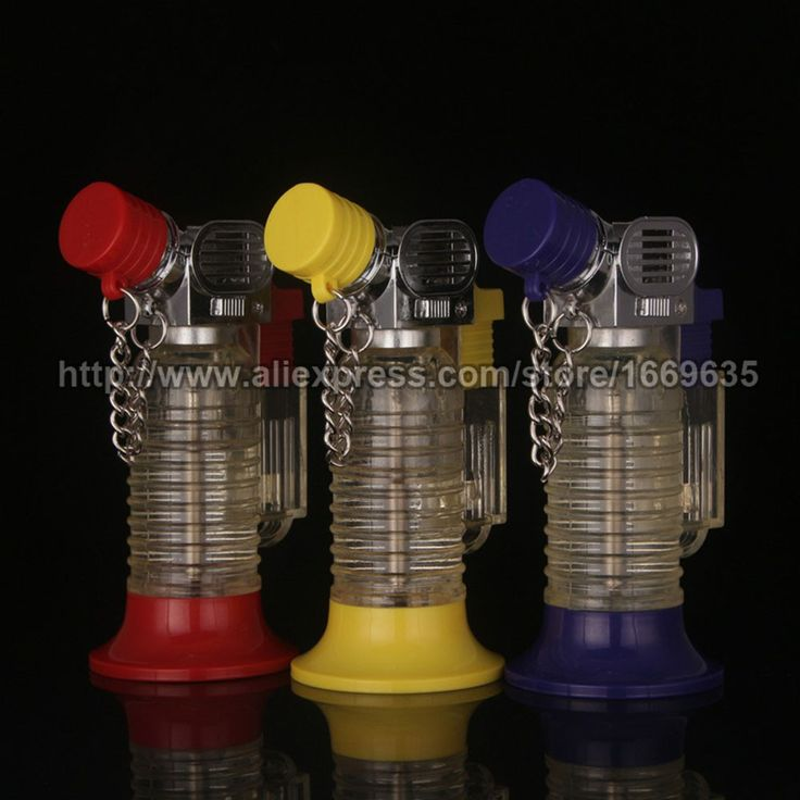 Find More Lighters Information about New Translucent Butane Gas Cigarette Cigar Torch Flame Windproof Lighter Refillable,High Quality cigarettes bulk,China cigar extras Suppliers, Cheap cigar flask from Riky_mall on Aliexpress.com