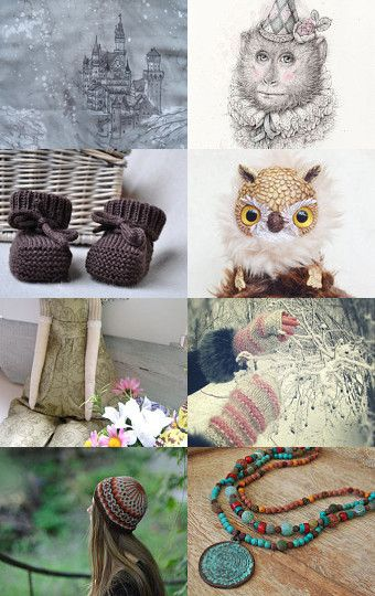 My owly was added to Christmas and New Year! Gifts! by Elena Koverzneva on Etsy