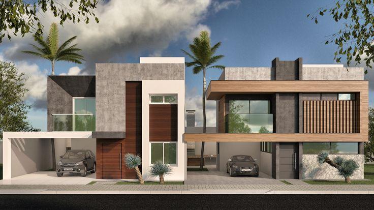 Projeto Unit arquitetos | Perspectiva Fachadas