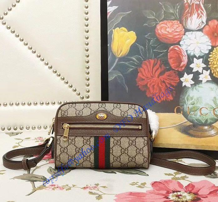 Gucci Ophidia Gg Supreme Mini Bag In 2020 Mini Bag Bags Gucci
