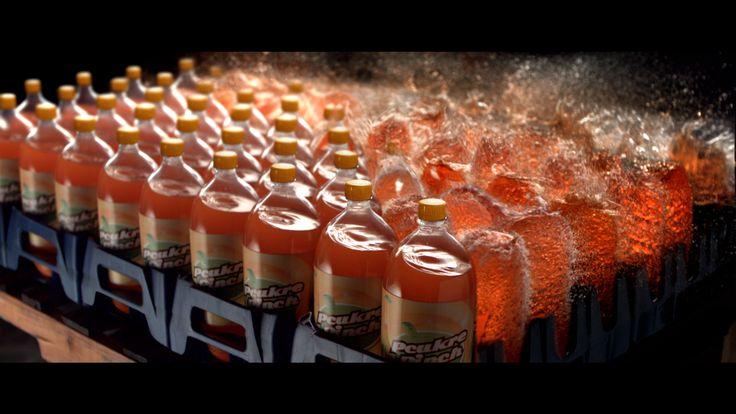 Bottles' explosion