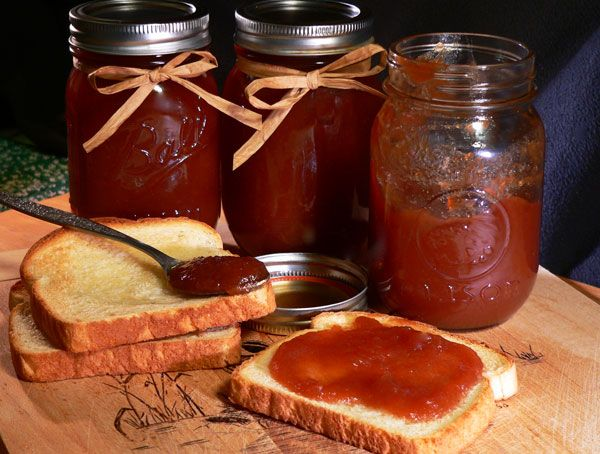 Apple Butter. I think I might give it a try this fall...why not! I grew up on my grandma's apple butter and biscuits. She is an authentic southern woman from TN! One of the sweetest women you could ever meet!