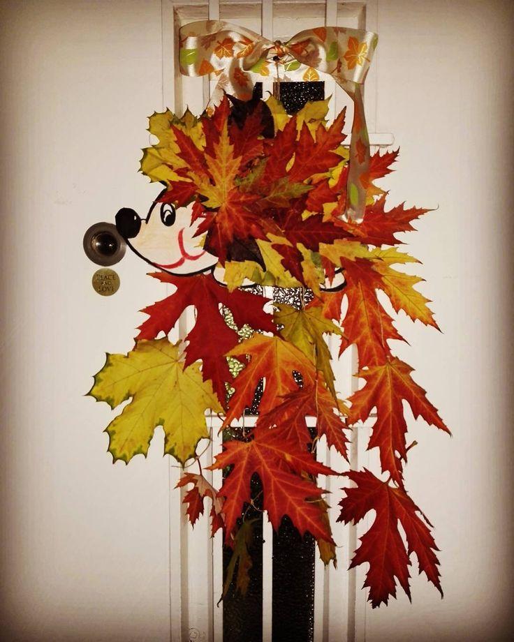 """(@ildikoka_) Instagram-hozzászólása: #cute """"#szeretemazőszt #autumn #hedgehog #sünbalázs #leaves #colorful #herbst #dolgokamiketszeretek…"""""""