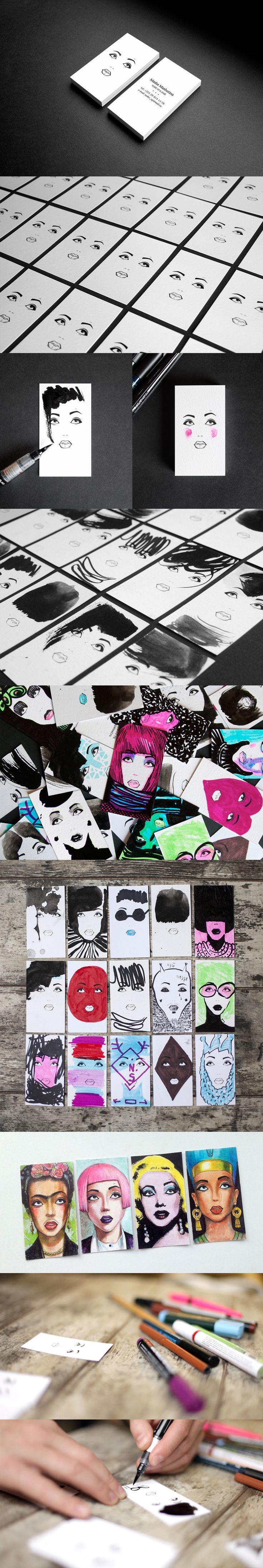 Cool dynamic business card by Lesha Limonov. http://revision.ru/work/94414/