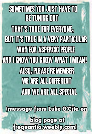 Luke O'Cite is a fictional character who has Asperger's Syndrome; all the characters of Frequantia will take turns to post short blogs on the main website. Stories and extracts of stories about Luke and others can be found on Facebook page Frequantia. check it out! and the new website is at frequantia.weebly.com     (all material copyright Kay Morgan but you are of course welcome to share pins!) http://frequantia.weebly.com/