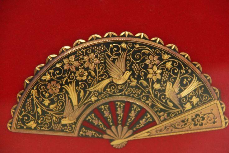 SALE Vintage Decorative Anframa Toledo Damasquinados De Oro 24k