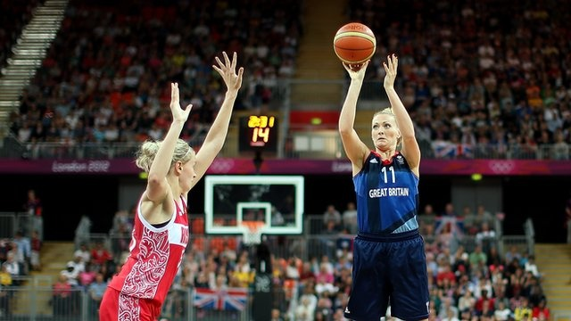 BBC Sport - GB basketball: Women beaten for third time by Russia