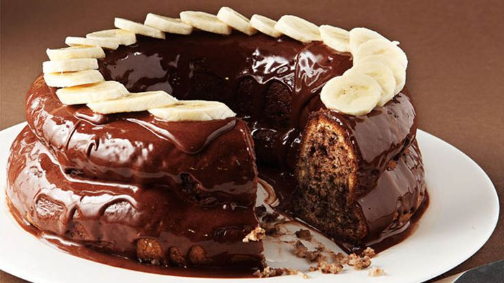 Ένα από τα πιο νόστιμα κέικ με μπανάνα και σοκολάτα που θα δοκιμάσετε!