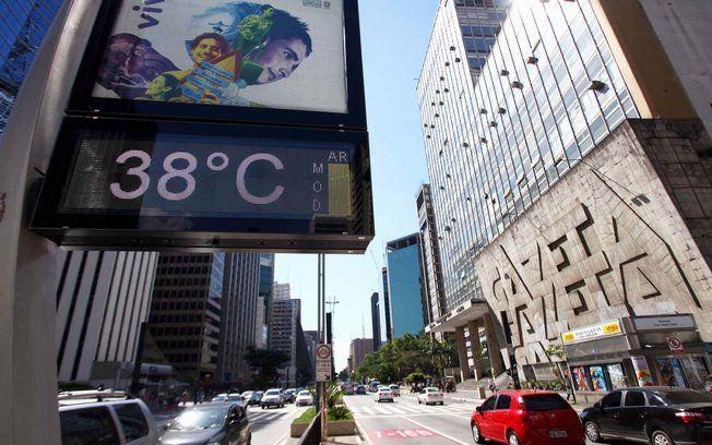 Maior temperatura já registrada pelo Inmet (Instituto Nacional de Meteorologia).