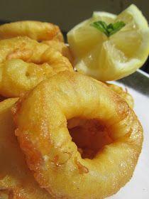 Deliciosos calamares a la romana , con un rebozado casero fácil y rico!    Cocina tradicional .