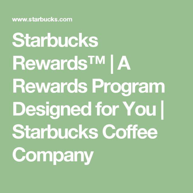 Starbucks Rewards™ | A Rewards Program Designed for You | Starbucks Coffee Company
