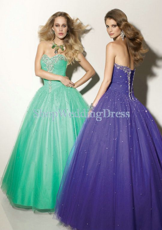 30 best images about puffy prom dresses on pinterest   puffy prom