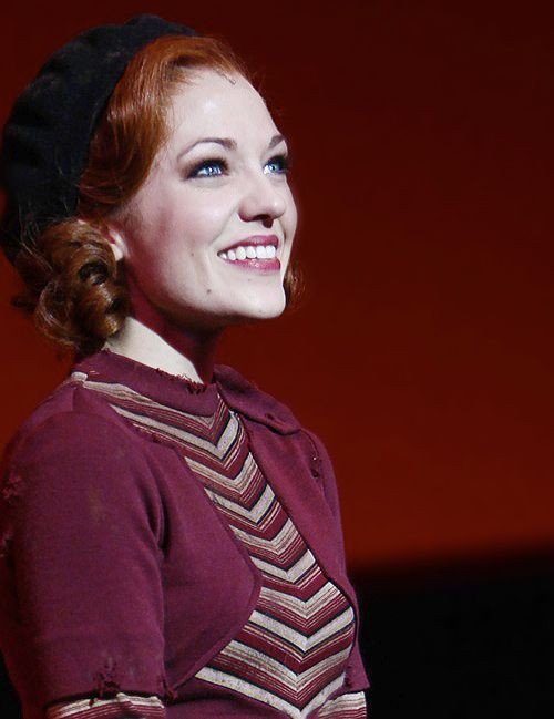 Laura Osnes as Bonnie in Bonnie and Clyde