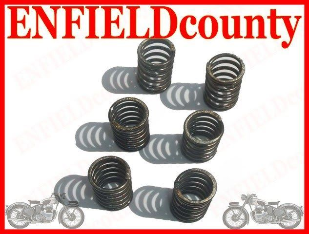 NEW ROYAL ENFIELD BULLET 6 Pc CLUTCH SPRING KIT 144138