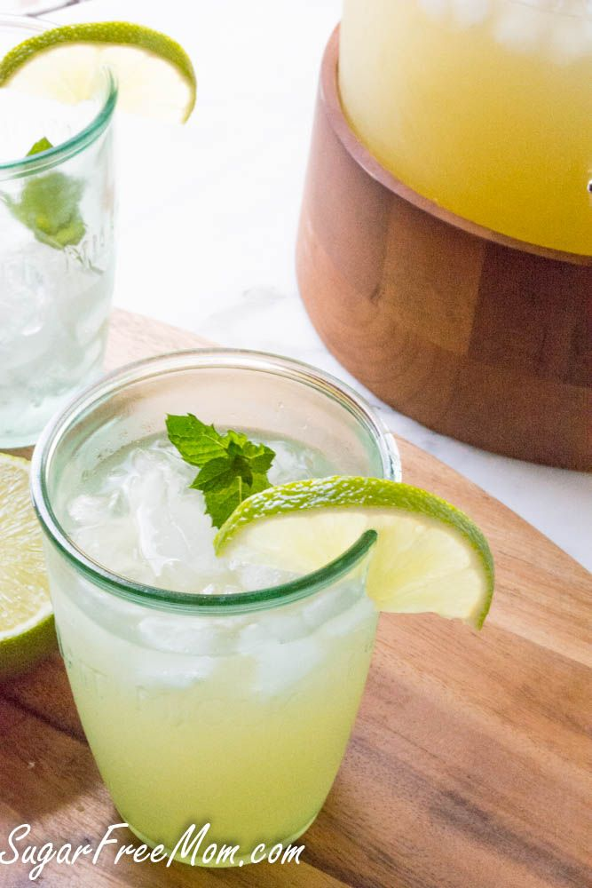 Sugar Free Copycat Starbucks Cool Lime Refresher #makeyourmove