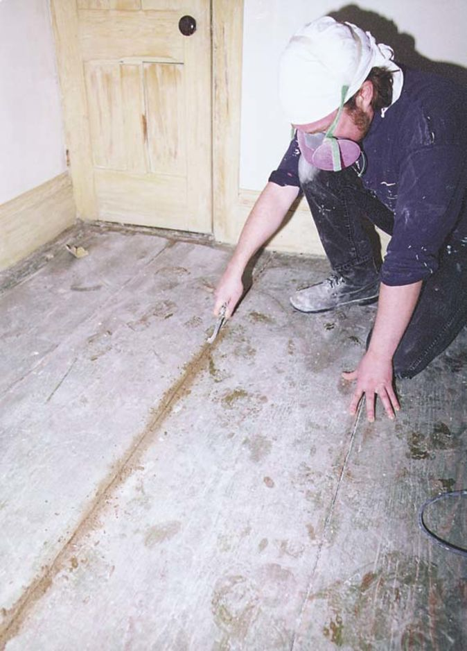 How To Restore Painted Wood Floors | Old House Restoration, Products & Decorating