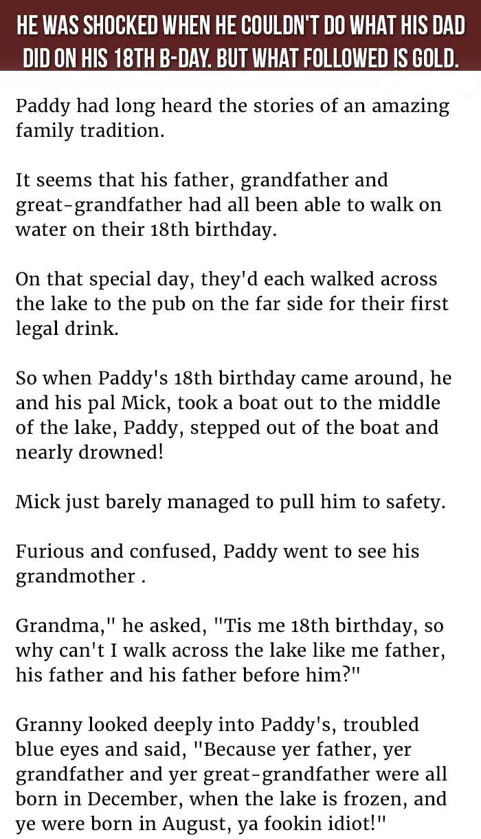 He Was Shocked When He Couldn't Do What His #Dad Did On His 18th B-day. But What Followed Is Gold.  #LOL #Funny #Hilarious