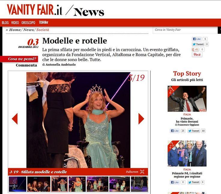 Vanity Fair | Miss Vertical Moment