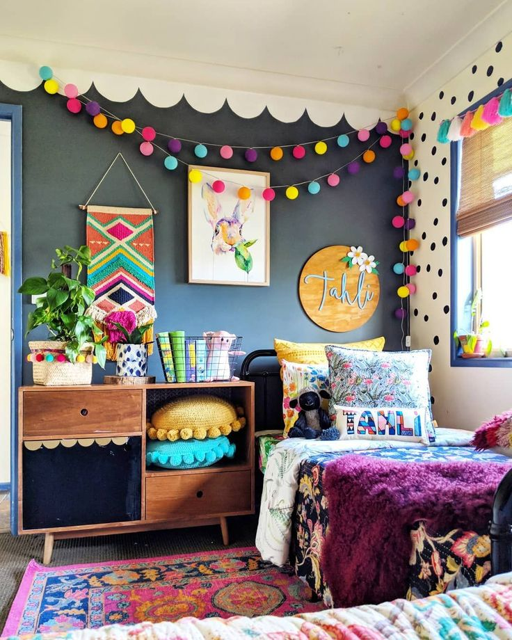 "25 Best Kids Bedroom Ideas for Small Rooms You Should Try Now  Brandi Love 🎨🌈🖼️ on Instagram: ""Our gorgeous mulberry coloured Mongolian Sheepskin from @chase_and_hide & Tahlis super cute personalized name cushion from Miles & Tate…"" The post 25 Best Kids Bedroom Ideas for Small Rooms You Should Try Now appeared first on Woman Casual."