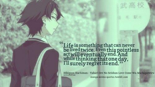 Deep Teenage Love Quotes : manga quotes anime qoutes manga anime life epic quotes real quotes ...