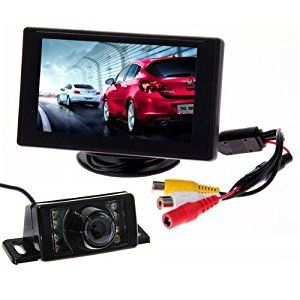 Rear view parking camera