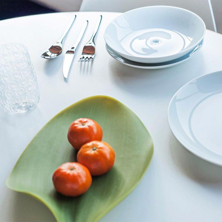 #Seasons Leave Plate by #Covo - #summertableware #artdelatable #design