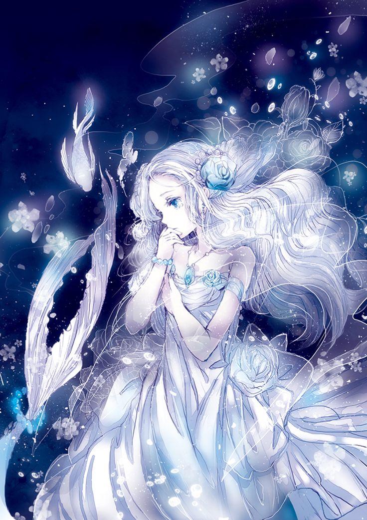 встретила арты в белом цвете что куклы