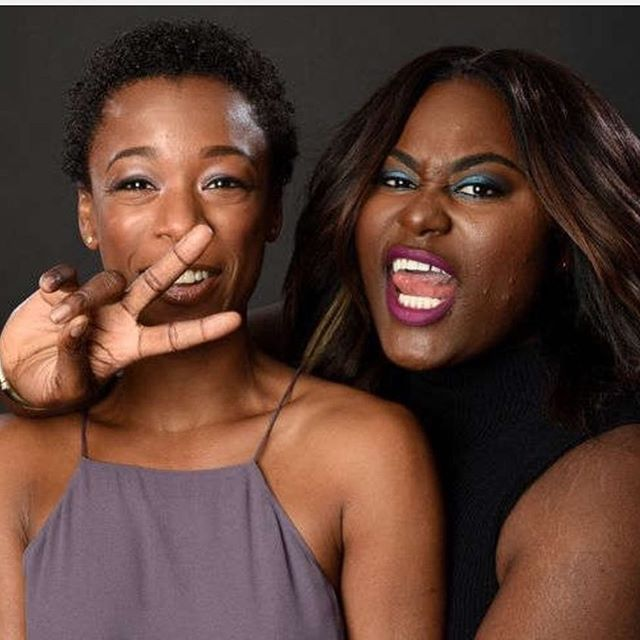 Orange is the New Black - Samira Wiley and Danielle Brooks