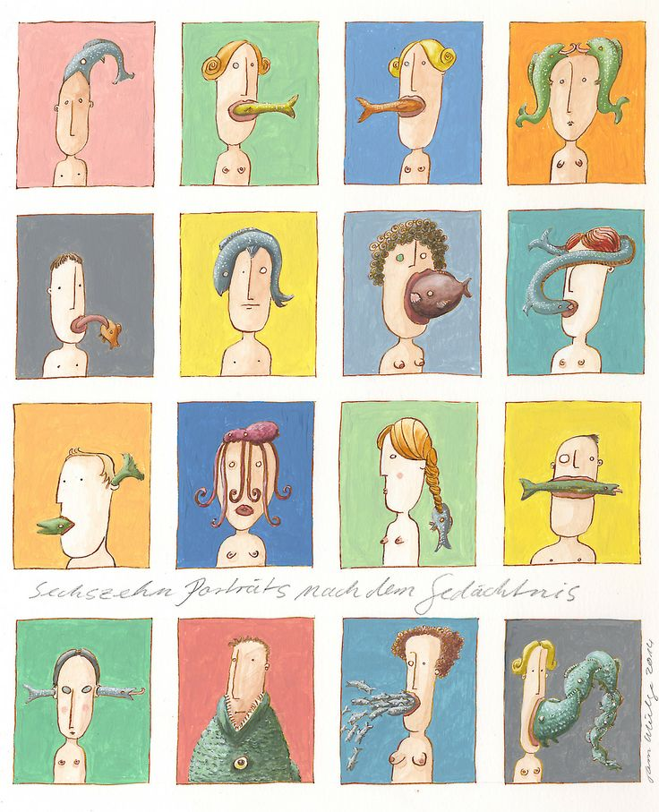 Sixteen Portraits from Memory (Sechszehn Porträts...