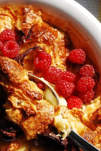 Le vendredi c'est retour vers le futur… Pudding aux croissants perdus et caramel de Nigellaaaa