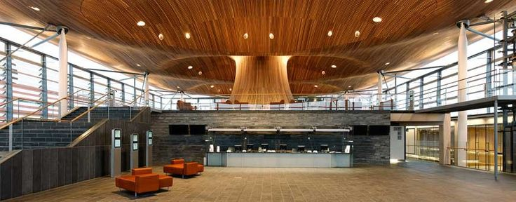 Architect - Richard George --Rogers. Project - National Assembly for Wales. Location- Cardiff, UK. Date- 1998-2005