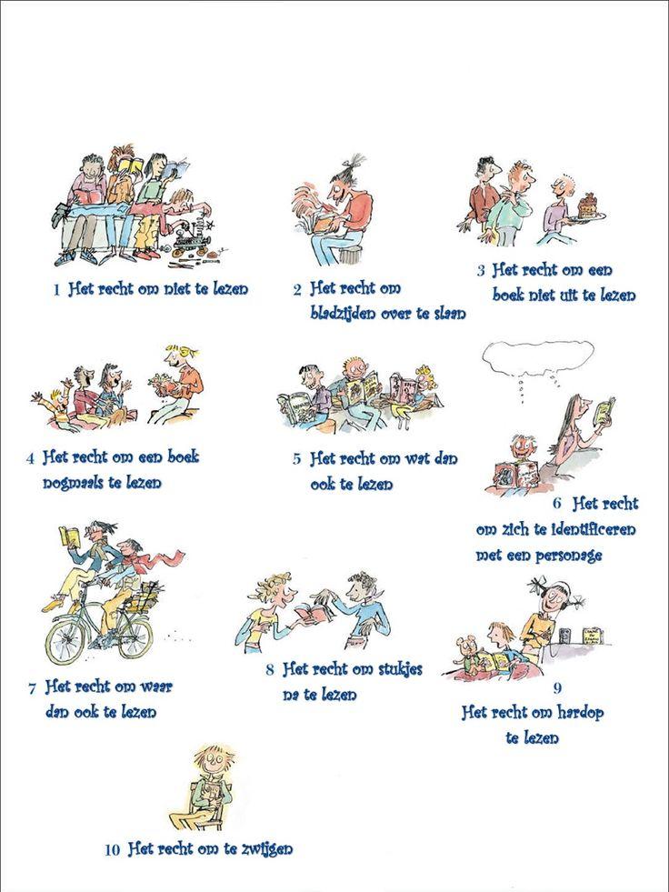 De 10 rechten van de lezer.