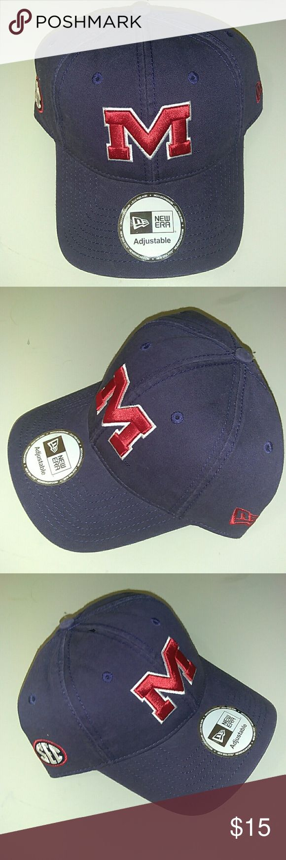 New Era Ole Miss Football Hat Cap New with tags Accessories Hats
