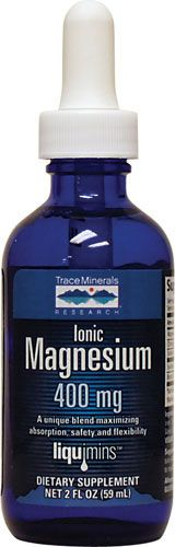 Liquid Ionic Magnesium Tincture - I like putting it in my green tea